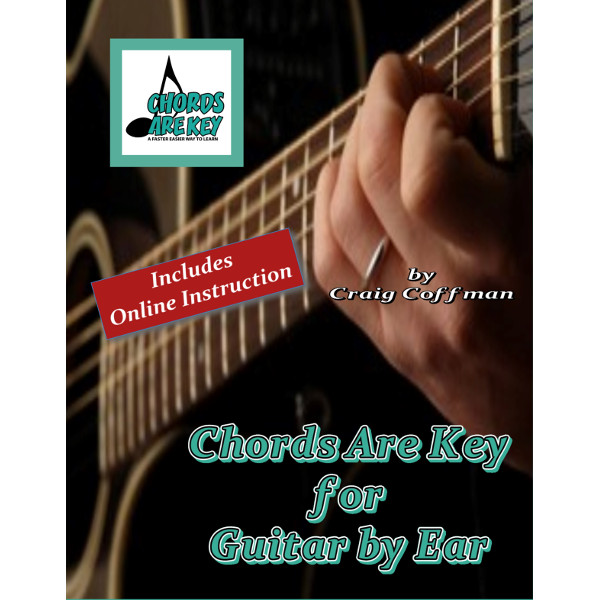 Chords are Key for Guitar by Ear (Book & Online Audio) – Chords are Key